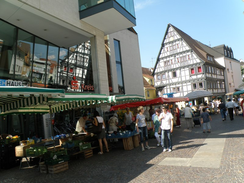 Nürtingen – where shopping's a pleasure
