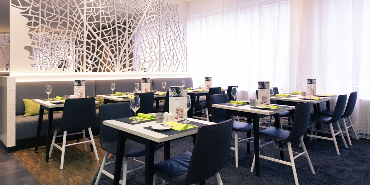 Restaurant, © Mercure Hotel Stuttgart City Center